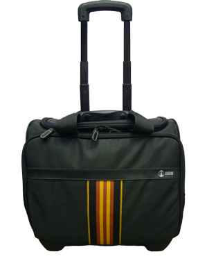 16 inch Carry On Multi Purpose Rolling Tote Front View