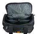 16 inch Carry On Multi Purpose Rolling Tote Open View